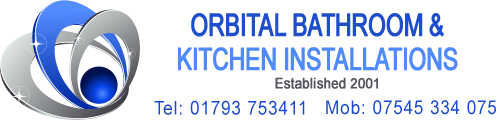 Orbital Bathrooms and Kitchens Logo