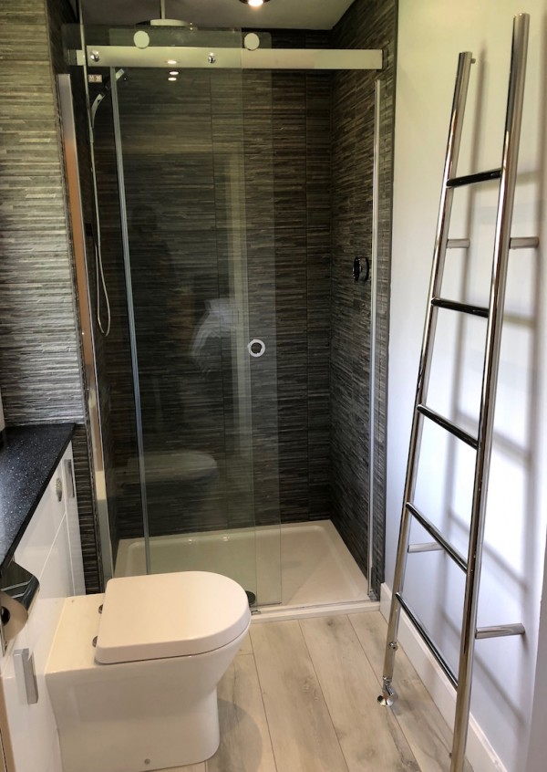 Bathroom tiles and Shower fitted in Swindon