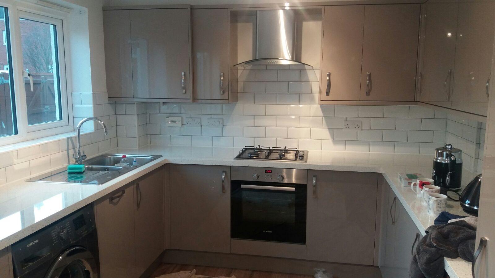 Brockworth, Gloucester Kitchen installation