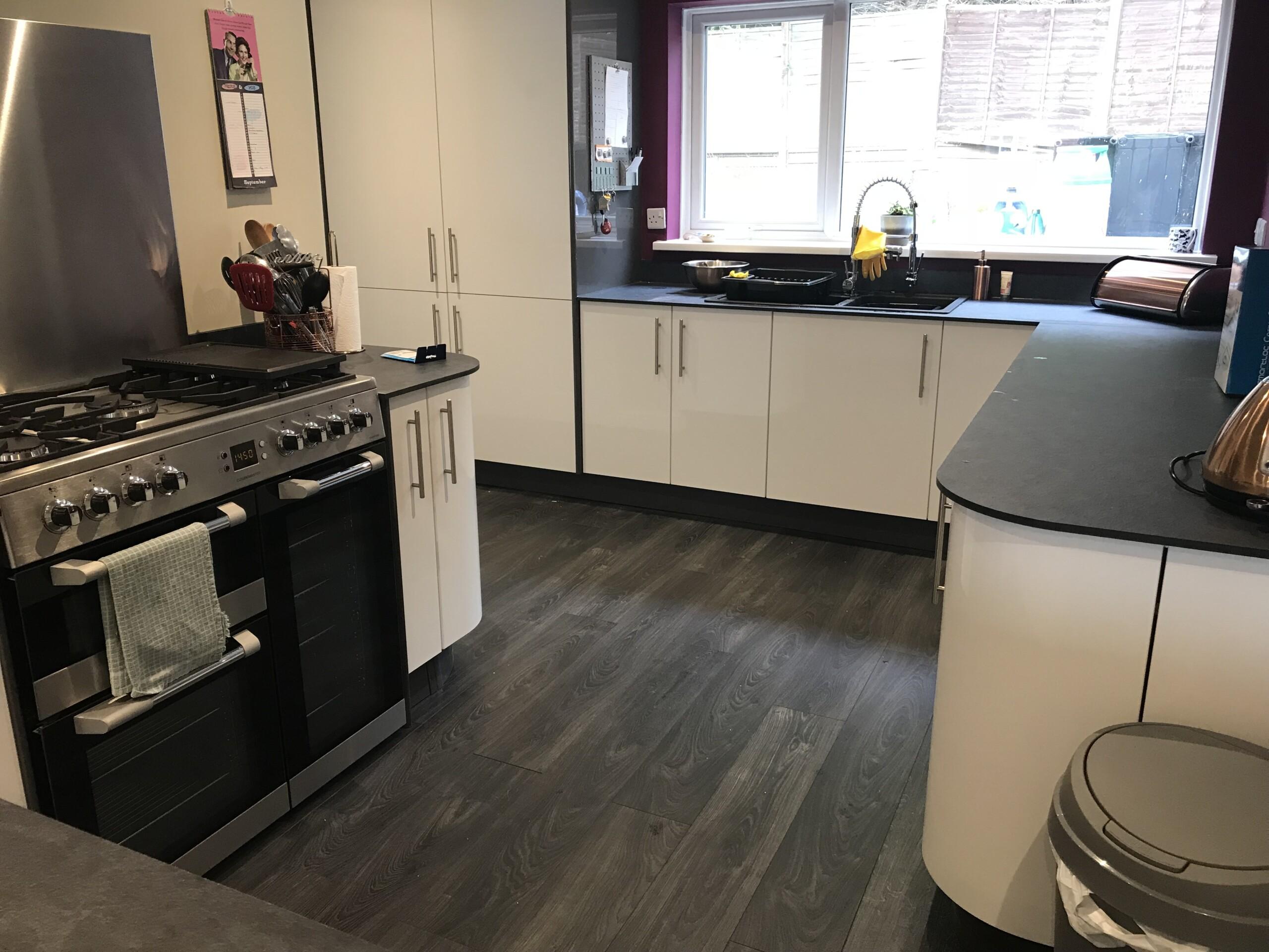Chippenham Kitchen Install end view