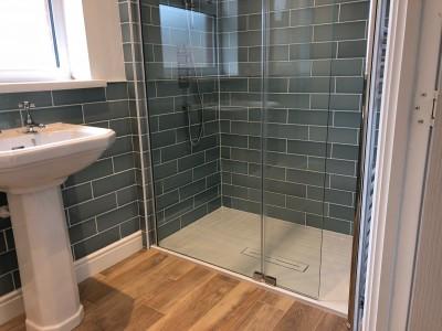 Orbital Bathrooms fitted the shower, Swindon
