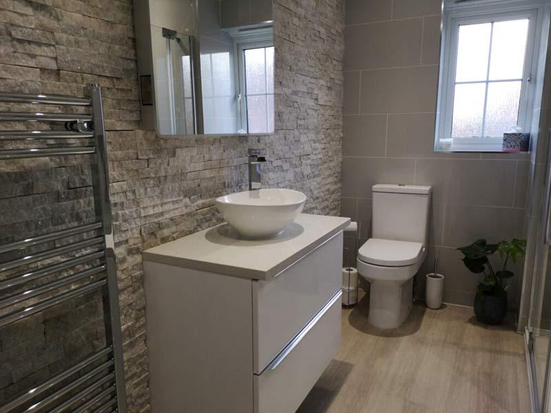 Bathroom installations by Orbital Kitchens and Bathrooms, Swindon