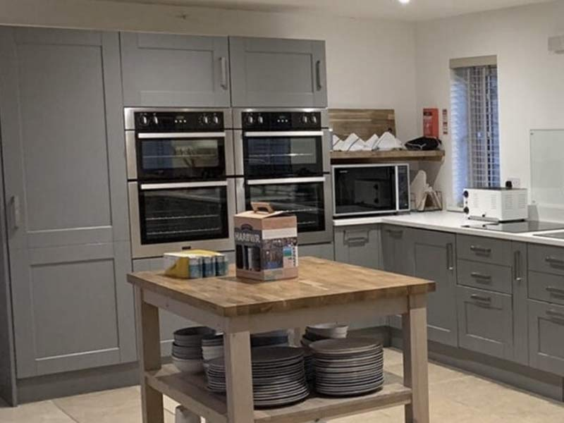 Kitchen installation by Orbital Kitchens