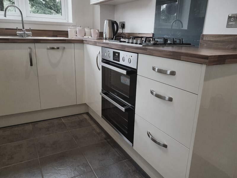 Kitchen installation by Orbital Kitchens and Bathrooms, Swindon